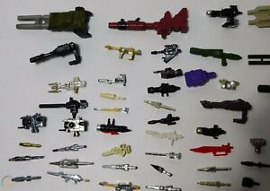 Transformers G1 Parts Accessories Lot YOU CHOOSE Flat $4.99 Shipping Vintage OEM