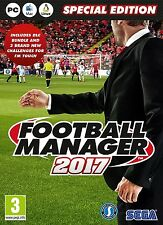Football Manager 2017 Limited Edition (PC DVD) NEW & Sealed