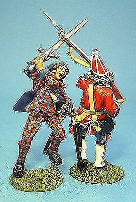 JR-16 - Highlander With 2-Handed Sword and Grenadier - John Jenkins