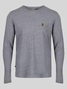 Luke 1977 Mens L/S Trouss Crew Neck Long Sleeve Jersey T-Shirt Top