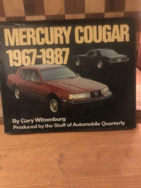 Mercury Cougar 1967-1987, HC Book, Witzenburg
