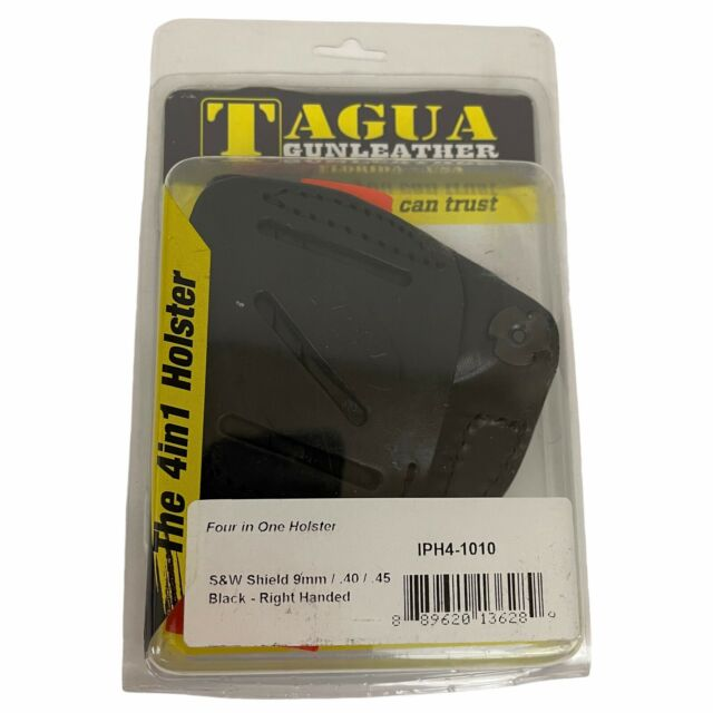 Tagua 4 in 1 Inside The Pant Holster S/&w Shield 9//40 BLK RH IPH41010 for sale online