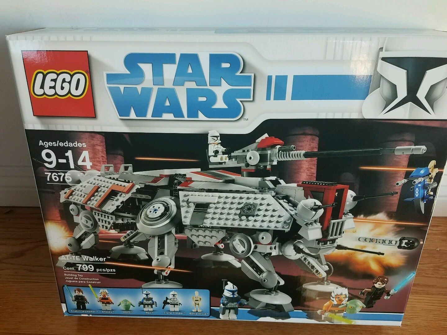 Lego Star Wars The Clone Wars AT-TE Walker  7675  Nuovo Sealed