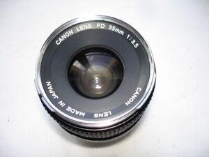 Objectif CANON FD 35 mm f:3,5