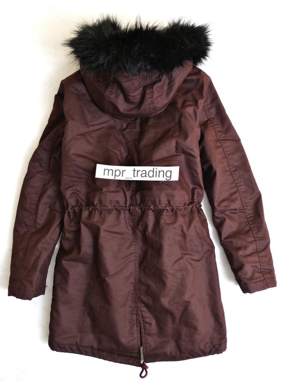 Sik Silk Navy Shiny Puff Parka Jacket SS-15038 RRP £109.95