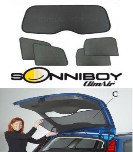 Sonniboy Mercedes C Klasse S204 Kombi Sonnenschutz 5tlg S 204  Passform