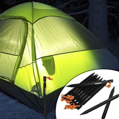 10*Brand Alloy Triangular Tent Peg Ultralight Camping Tent Stake Aluminum Useful