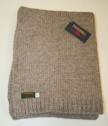 Laine d/'alpaga mix chunky tricot couvertures plaids beaucoup de couleurs Tweedmill britanniques