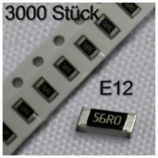 3000 SMD Widerstände 1206 0,25W 1% Sortiment Set  Resistor 1/4W E12