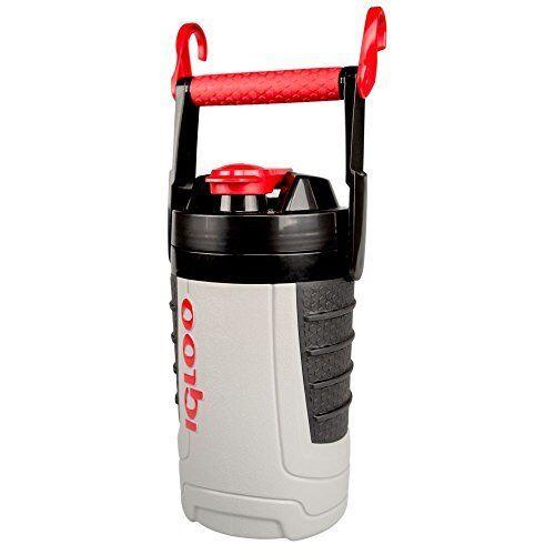 NEW Igloo Proformance 1 Quart Sport Jug-Ash Gray//Red Heat Gray FREE2DAYSHIP