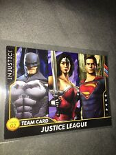 Dave And Busters Gods Among Us Justice League Team Card 106 Non Foil Mint