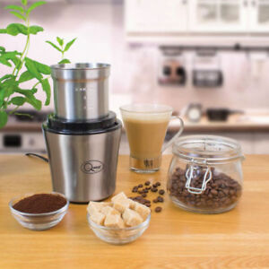 Coffee-Grinder-Nut-And-Spice-Grinder-In-Stainless-Steel-200W-Wet-And-Dry