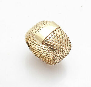 Technibond Pave Set Black Spinel Curb Ring Platinum Clad Sterling Silver HSN