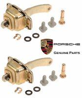 Set Of 2 Door Stops With Hardware Kit Genuine Porsche 911 912 on sale