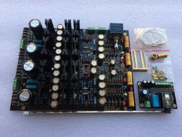 Assembled Krell KSA-05 Class A preamplifier board with headphone amp