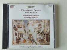 Bizet L'Arlesienne Carmen Suites 1 & 2 Slovak Philharmonic Anthony Bramall CD