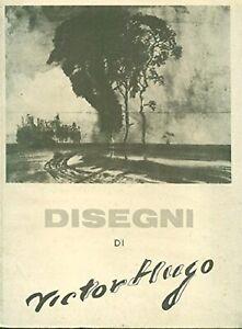 Disegni-di-Victor-Hugo-Italiano-Copertina-rigida-1956-PARI-AL-NUOVO
