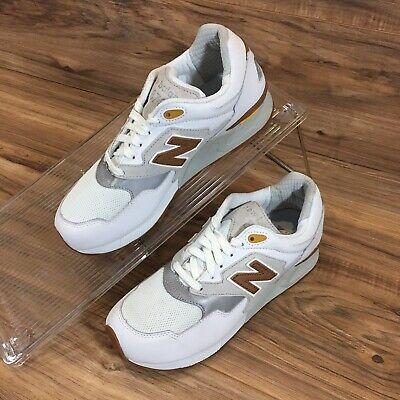new arrival ed5c8 7aaa7 New Balance 878 White ML878ATA Abzorb White Gum Bottom Running Shoes Size 8  New | eBay