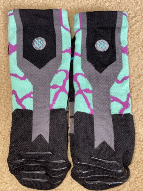 L//XL Men/'s Stance B Grade Seventy Six Banner American Flag Snowboard Socks-