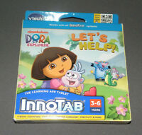 Innotab 2, 3 Dora The Explorer Let's Help Game Software E-book Vtech