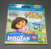 Innotab 2, 3 Dora The Explorer Let's Help Game Software E-book Vtech