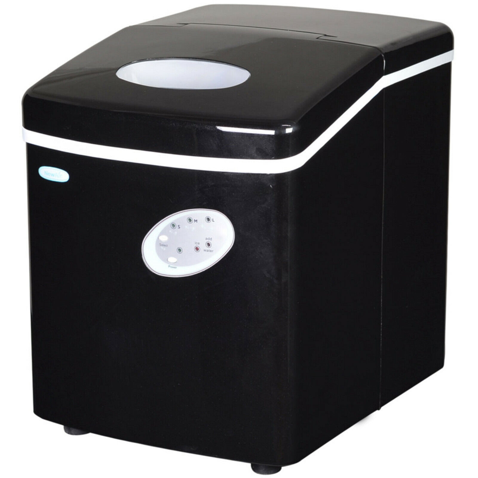 NewAir Portable Ice Maker 28 lb. Perfect for Countertops - AI-100 - REFURBISHED