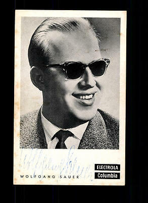 Treu Wolfgang Sauer Autogrammkarte Original Signiert ## Bc 91608 Original, Nicht Zertifiziert Musik