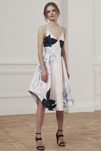 Vintage Inspired Silhouette KS-0910 Keepsake Translate Midi Dress Floral Print