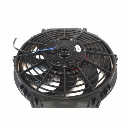 12″ inch Universal Slim Fan Push Pull Electric Radiator Cooling S Blade Kit