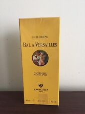 Vintage Bal A Versailles Eau De Cologne 3 Fl. Oz. In Cellophane Sealed Box