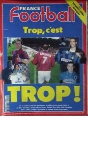 FRANCE-FOOTBALL-No-2616-du-28-05-1996-TRANSFERTS-BLANC-ZIDANE-DJORKAEFF-THURAM