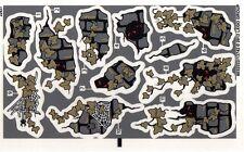 LEGO 9468 - Monster Fighters Vampyre Castle (Red Eyes Version) - STICKER SHEET