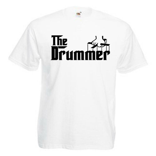 Batteur Tambour Adultes Hommes T Shirt