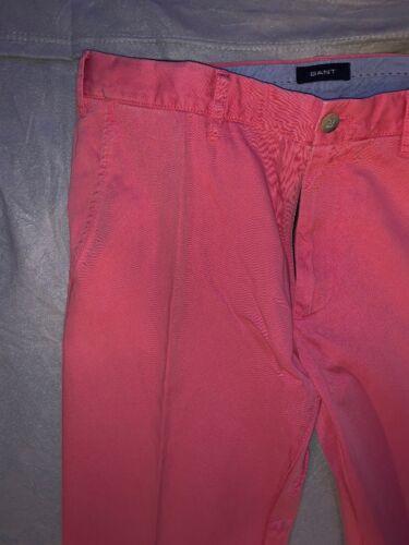 Chinos Hommes Pantalon 34 36 Gant Ceinture 7HqwYY