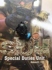 Soldier Story SDU Assault K9 Avon FM-12 Gas Mask & Pouch loose 1/6th scale