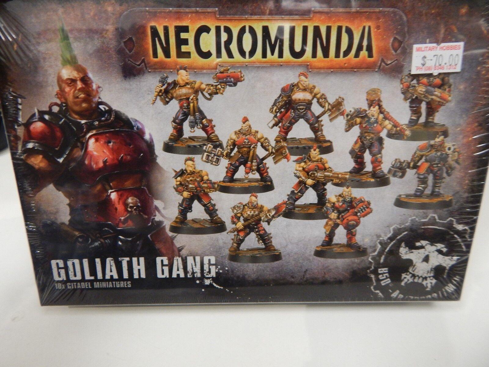 Games Workshop Necromunda Goliath Gang