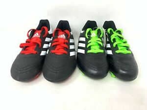 NEW-Adidas-Youth-Boy-039-s-Goletto-Soccer-Cleats-Red-Black-OR-Lime-Black-A1-14-tz