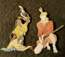 Disney  Fantasy Pin Pocahontas and John Smith LE 50