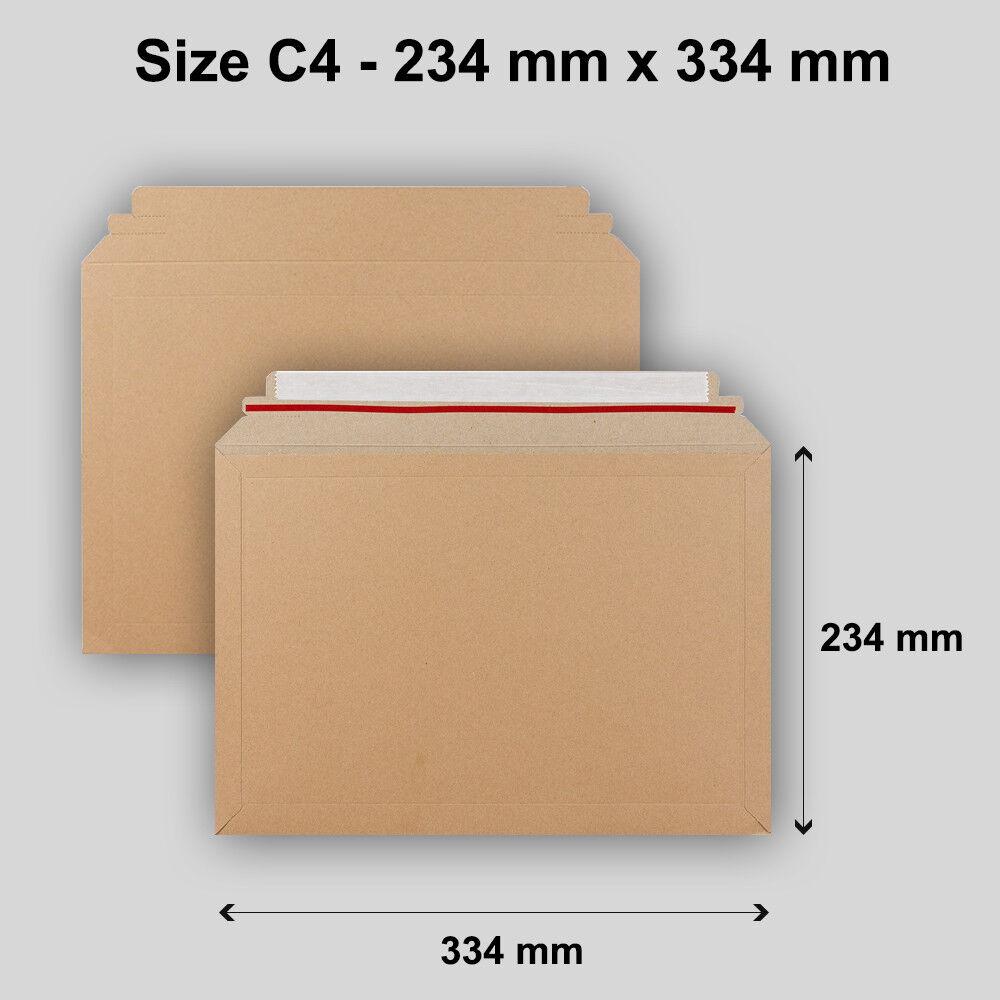Meilleure Qualité C4 T capacité Livre Mailer 5 10 20 100 50 100 20 Peel & Seal enveloppes 724ef5