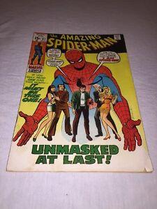 The Amazing Spider-Man #87 Comic Book (Aug 1970, Marvel) *READ DESCRIPTION PLZ*