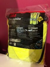 New 3m Scotchlite Class 2 Construction Safety Vest 1 Sz Reflective Material