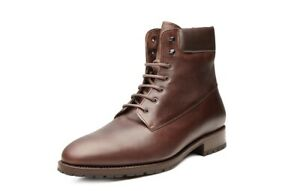 low priced 4f99f b87df Details about Shoepassion No.6712 Men's Boots Winter Leather Braun Gr.42, 5