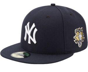 New York Yankees New Era 39FIFTY Bernie Williams Patch Stretch Fit Hat Cap M/L