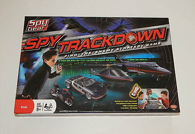 Electronic, Battery & Wind-up Toys & Hobbies Straightforward Spy Gear Spy Trackdown Electronic Board Game 2008 Wild Planet R10919