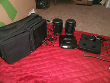 USED SONY DISCMAN WITH VINTAGE KOSS SPEAKERS AND CASE D 131