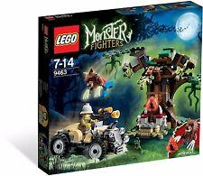 NEW & SEALED LEGO WEREWOLF 9463 Set w/ Box Monster Fighters wolf Halloween