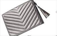 Neiman Marcus Silver Clutch