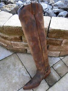 Gr Hochschaft stief Antikbraun Sendra 5 10757 9 t western cuervo l 44 m zTWWdSqgZ