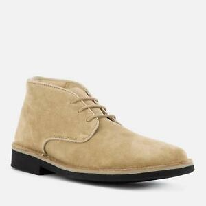 Designer H By Calzature Boots Desert Margrey Hudson Bnib Suede qrPwqHfg