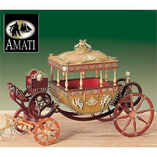 Amati Egyptian Style Royal Carriage 1819 Model Kit
